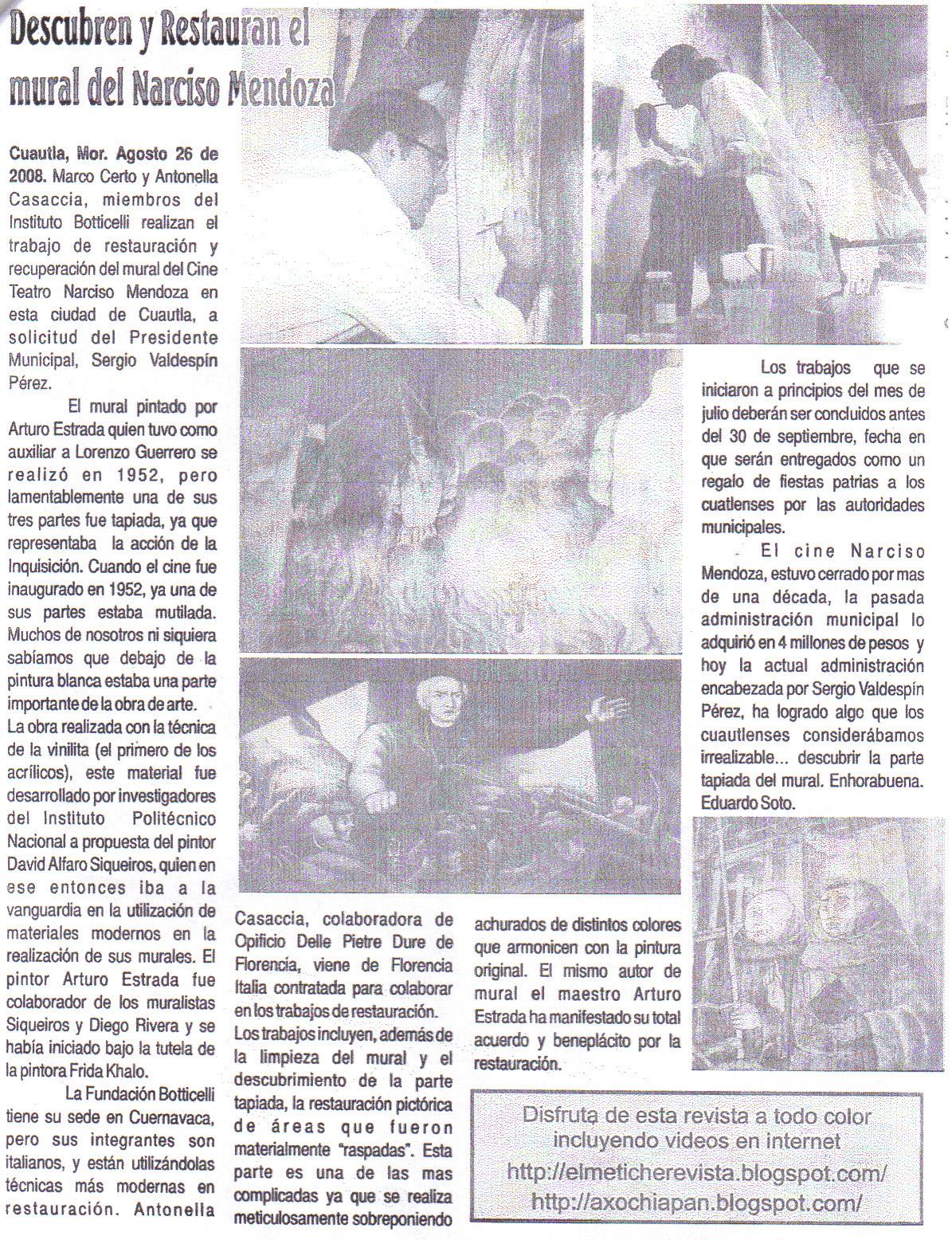Certificazione di qualit dell 39 arte for El mural pelicula argentina